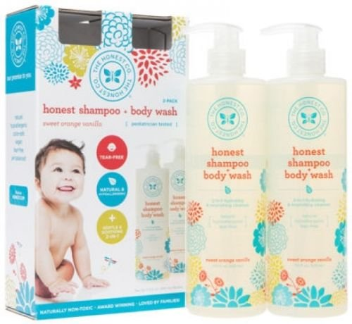 17 Oz Skin Caviar (The Honest Company Shampoo and Body Wash 2-17 oz // Ultra-pure 2-in-1 hydrating hair & foaming body cleanser)