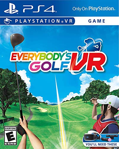 Everybody's Golf VR – PlayStation 4 VR Full Game Key Card