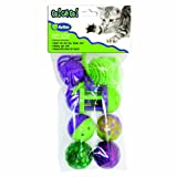 Go Cat Go 7-Piece Rolling in the Fun, Multi-Pack, My Pet Supplies