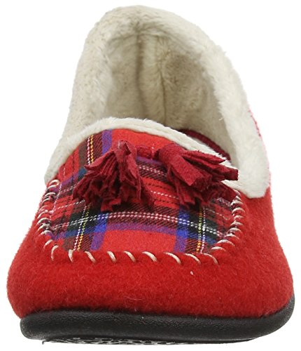 Chaussons red Tassel Red Padders combi Bas Femme SH8qTxnwg