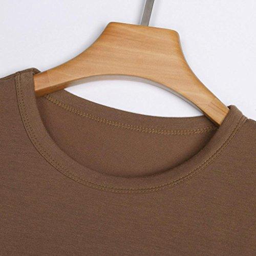 Ballerine SANFASHION Shirt155 Bekleidung Donna Damen SANFASHION Marrone wUF8Sqqa