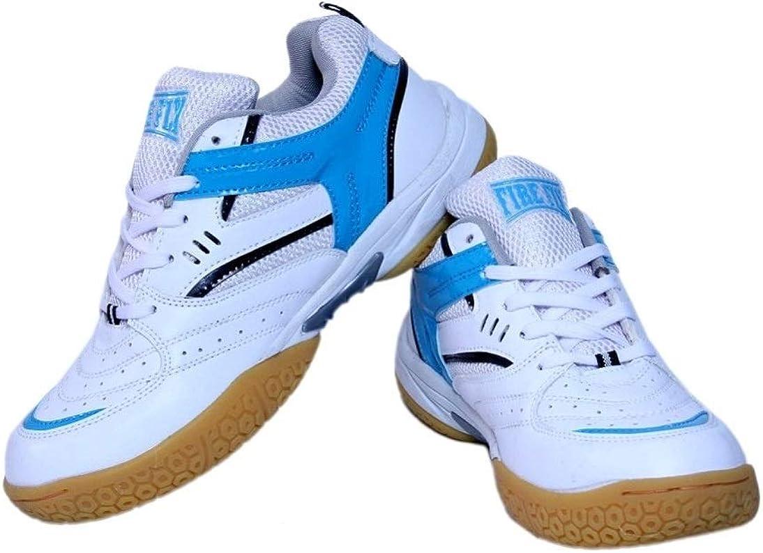 Men's Excel Badminton White Blue Sports