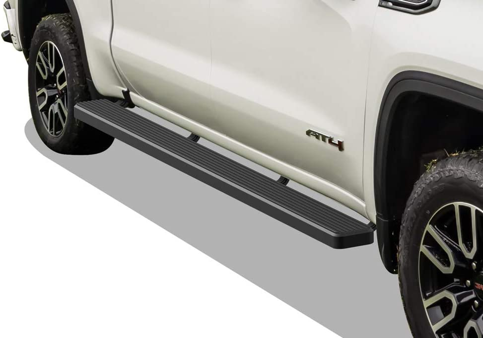 Exclude 19 1500 LD Nerf Bar   Side Steps   Side Bars HD Ridez Flat Style Running Board Black Compatible with Chevy Silverado GMC Sierra 1500 2019-2021 Regular Cab /& 2500 3500 2020-2021
