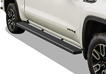 Silver 6 inches Nerf Bars Side Steps Step Bars APS iBoard Running Boards Exclude 2019 Silverado Sierra 1500 LD Compatible with 2019-2020 Chevy Silverado GMC Sierra 1500 Crew Cab