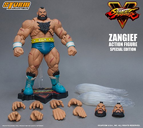 Storm Collectibles Street Fighter V Zangief (Special Edition) Action Figure