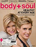Body + Soul October 2009 Healthy At Every Age Martha Stewart