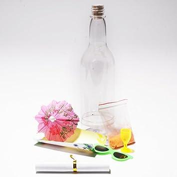 Mensaje en una botella de Luau Tropical piscina invitaciones de fiesta