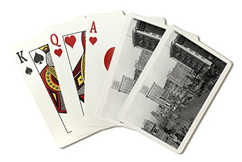 NYC, New York - Street Scene, View of the Sterling (Playing Card Deck - 52 Card Poker Size with Jokers)