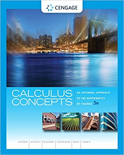 Calculus Concepts: An Informal Approach to the Mathematics