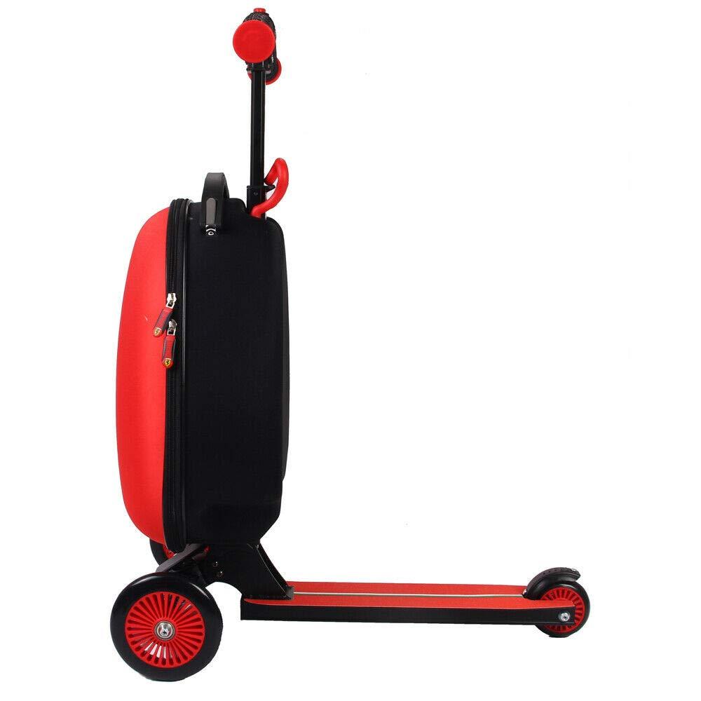 Amazon.com: Ferrari – Scooter Equipaje infantil, color rojo ...