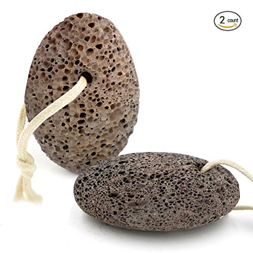 Lava Pumice Stone By DigHealth(TM), Callus Remover For Foot Scrubber, Foot Pumice To Remove Dead Skin (Random Color And Shape) (Pumice Stone Hair)