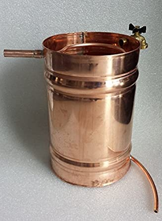 Stampede Stills 2 Gallon Copper Moonshine Still Condenser (Chiller/Worm  Coil)