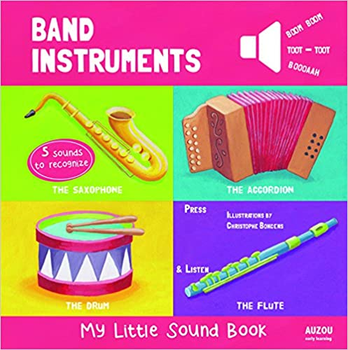 Band Instruments - My Little Sound Book (My Little Sound Books) Books Pdf File