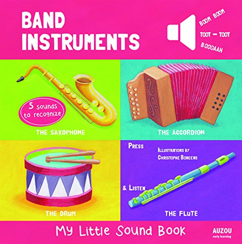 Band Instruments - My Little Sound Book (My Little Sound Books)