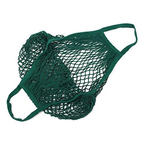 Atrovirens Shopping Kicode Kintted Grocery Cotton Portable Environmental String Bags Net Storage FTvwPTAq