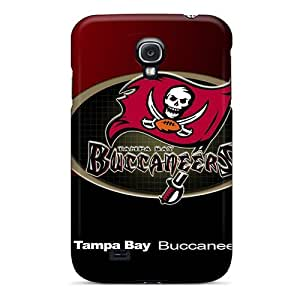 Hot Tpu Cover Case For Galaxy/ S4 Case Cover Skin - Tampa Bay Buccaneers BY icecream design