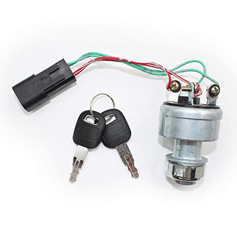 Amazon.com: Koauto 142-8858 New Ignition Switch With 2 Keys ... on caterpillar diagram, cat c15 engine diagram, parts diagram, cat excavator hydraulic diagram, cat 3 wiring diagram, cat 277b undercarriage diagram,