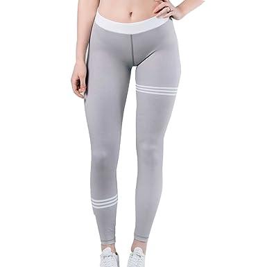 junkai Pantalones Largo para Mujer, Moda Slim Fit Skinny ...