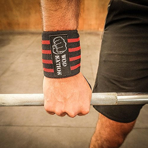 Wrist Wraps By Wod Nation Wrist Support Straps 12 Quot 18