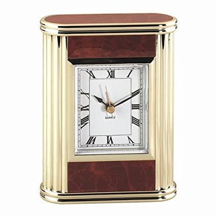 The shopping aisle Rectangular Acrylic Desk Clock Green Marble AX-AY-ABHI-107663