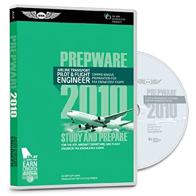 ATP Airline Transport Pilot Prepware from Aviation Supplies and Academics (ASA)