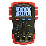 Triplett 1301 Compact Digital Multimeter with Backlit LCD, 22 Measurement Ranges