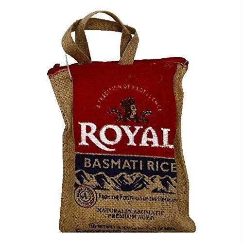 ROYAL RICE BASMATI BURLAP BAG, 2 LB