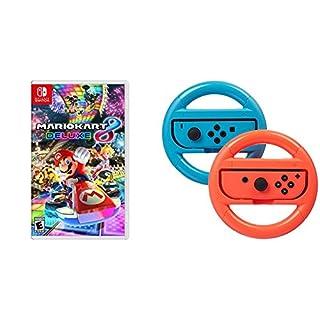 Mario Kart 8 Deluxe - Nintendo Switch and AmazonBasics