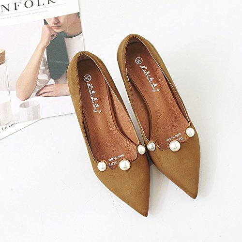 Matt giallo scarpe per raccontare solo la donna wild alti sottolineato con bella scarpe tacchi 37 nero ragazza in i scarpe ha FRqrZSnBF