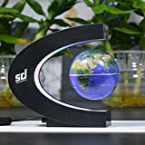 Smiledrive Magnetic Levitation Floating Globe With Multicolored LED Lights
