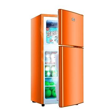 QCYSK Mini-refrigerador Refrigerador y congelador Compacto de ...