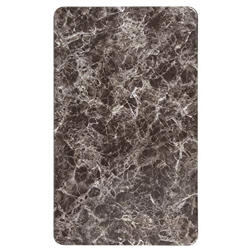 Flash Furniture 24'' x 42'' Rectangular Gray Marble Laminate Table Top by Flash Furniture (Image #2)