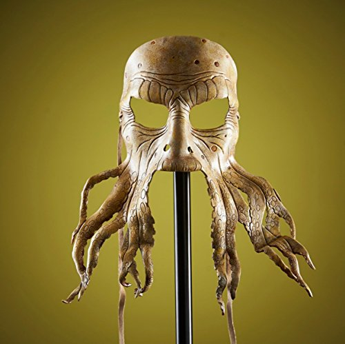 Pirate Octopus Handmade Genuine Leather Mask for Masquerades Halloween or -