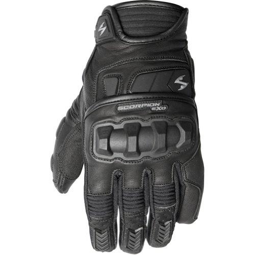 Scorpion Klaw II Men's Leather Street Motorcycle Gloves - Black / Medium