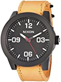 Nixon Unisex The Corporal X Mountain Dweller Collection All Black/Goldenrod