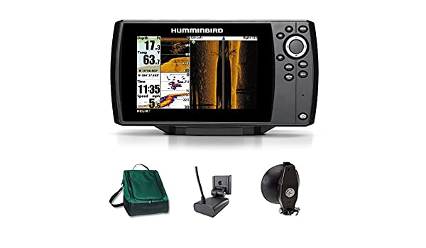 Humminbird Helix 7 SI GPS Side Imaging Echolot Mar tarjeta Combo ...