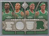 2009-10 SP Game Used Basketball Celtics Fabric