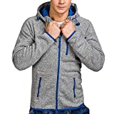 SMALLE ◕‿◕ Clearance,Mens Autumn Winter Casual Zipper Long Sleeve Pullover Sweatshirt Hoodie Coat Top