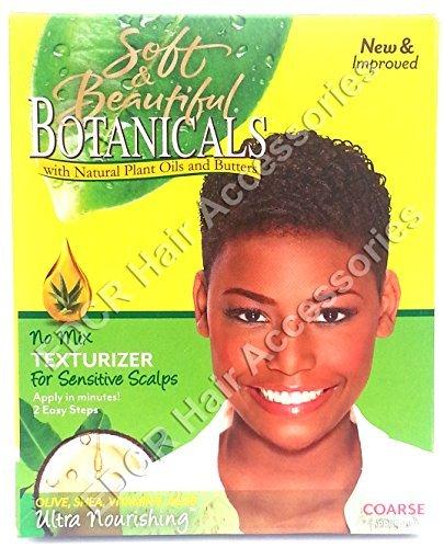 Soft & Beautiful Soft & Beautiful Botanicals No Mix Texturizer For Sensitive Scalps Coarse 2 App USA AB-151476
