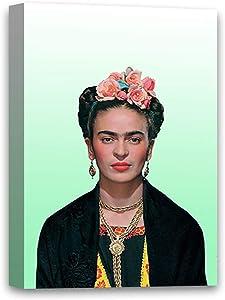 Funny Ugly Christmas Sweater Iconic Mexican Artist Frida Modern Artwork Frida Kahlo Portrait Art Frida Kahlo Retro Photo Frida Canvas Art Ready to Hang 8