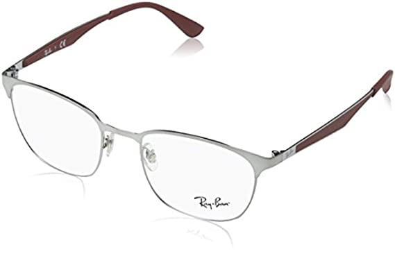 924bbe5783 Amazon.com  Ray-Ban Unisex 0RX6356 50mm Gold Havana One Size  Clothing