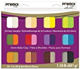 Polyform Premo Clay Sampler Pack, Assorted