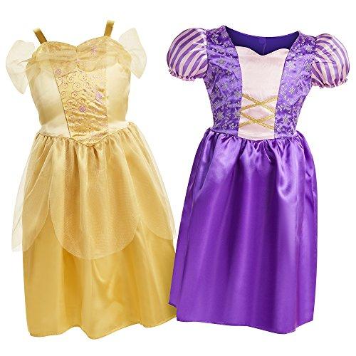 Disney Princess Belle & Rapunzel Dress Up Trunk - coolthings.us