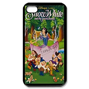 Snow White and Seven Dwarfs for iPhone 4,4S Phone Case 8SS459379