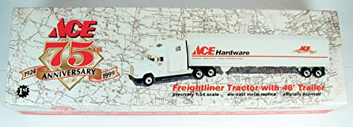 Ace Hardware 75th Anniversary Freightliner Tractor w/ 48`` Trailer 1:54 .HN#GG_634T6344 (Anniversary Tractor)