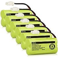 iMah BT183342 BT283342 BT166342 BT266342 BT162342 BT262342 Cordless Phone Battery for AT&T EL52100 EL50003 CL80100 CL80111 CRL80112 EL50003 Vtech CS6709 CS6609 CS6509 CS6409 Handsets (Pack of 6)