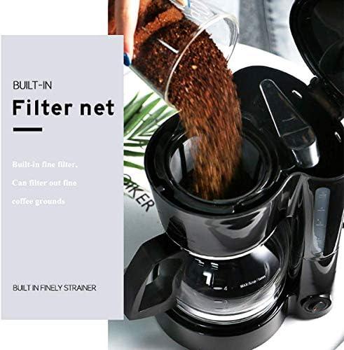 Machine à café filtre, filtre 600W amovible for garder au chaud 750ML 5 tasses (150 ml/tasse) Machine à café FBA gratuit KNDTA