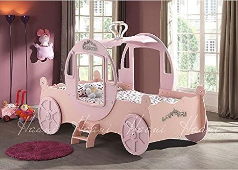 Carrozza Letto In Inglese : A forma di carrozza da principessa da letto per bambini amazon