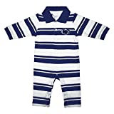 Penn State Nittany Lions NCAA College Infant Baby Rugby Striped Leg Romper (6 Months)