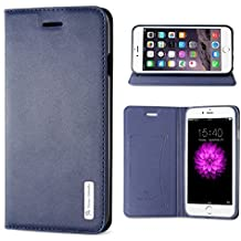 """iPhone 6S Case, iPhone 6 Case (4.7"""") - BELK Deluxe Soft Flip Case Flex TPU Gel Back Shell Rich Color Diary Case Luxury Wallet Case for iPhone 6S / iPhone 6 - Blue"""